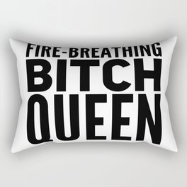 Fire Breathing Rectangular Pillow