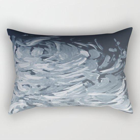 Abstract flowers 25 Rectangular Pillow