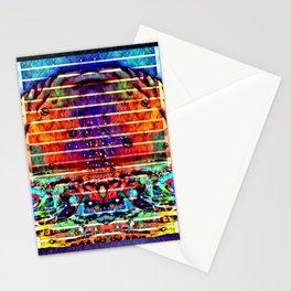 Space mushroom cloud Stationery Cards