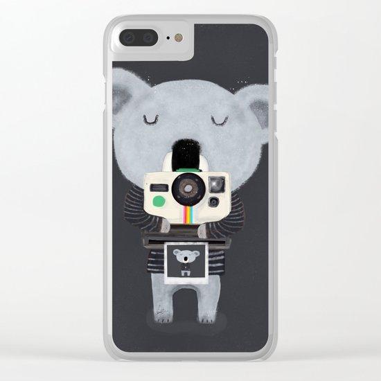 koala cam Clear iPhone Case