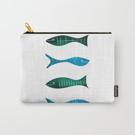 Fishes and Sea Carry-All Pouch