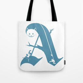 A is for Alice Tote Bag