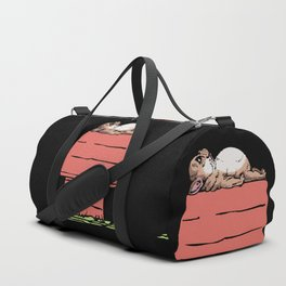 French Bulldog House Duffle Bag