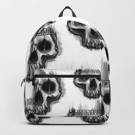 Aztec skull Backpack