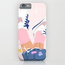 Flower Shoes  iPhone Case