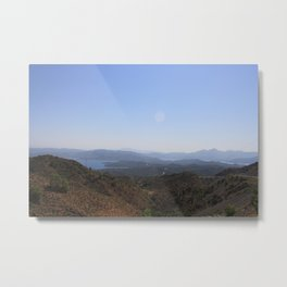 The Datca Peninsula Metal Print