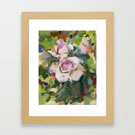 Roses in Acrylic Framed Art Print