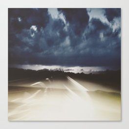 Midnight Highway Canvas Print