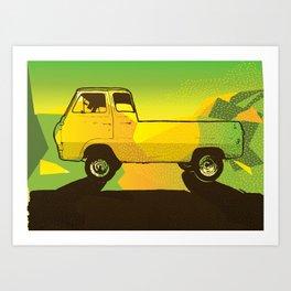 Ventura Ave. Art Print