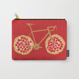 Bicycle Pizza Wheels Carry-All Pouch