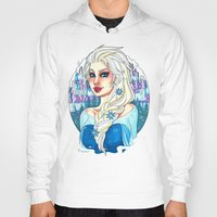 elsa Hoodies featuring Elsa by Little Lost Forest