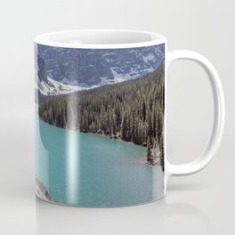 Lake Moraine Top View Coffee Mug