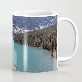 Lake Moraine Top View Coffee Mug