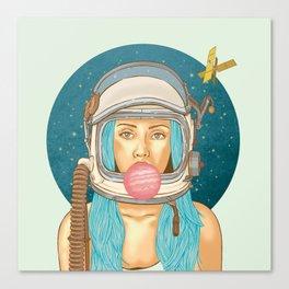 Bubblerella Canvas Print