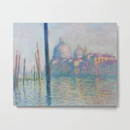 Claude Monet - Le Grand Canal Metal Print