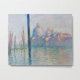Claude Monet - Le Grand Canal Metal Print