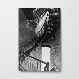 Spiralling Up Metal Print