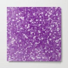 Winterberry Polka Dot Bubbles Metal Print