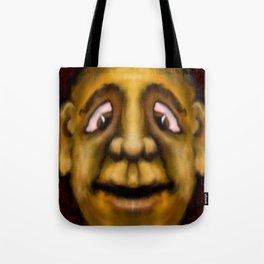 Cross Eyed Dude Tote Bag