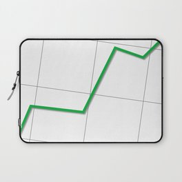 Statistic Up Laptop Sleeve