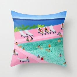 Seaview Throw Pillow