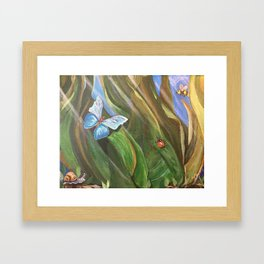 The Grass World Framed Art Print