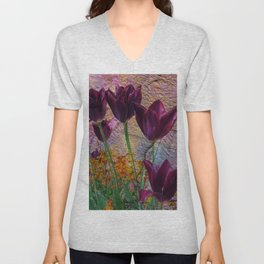 BACKYARD BEAUTIES Unisex V-Neck