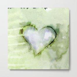 Love Unfolding No.26B by Kathy Morton Stanion Metal Print