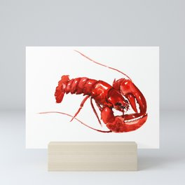 Red Lobster, restaurant kithcne design boston Mini Art Print