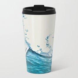 Water Color Metal Travel Mug