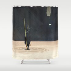 Golden Witch Doctor Shower Curtain