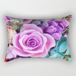 Romantic garden III Rectangular Pillow