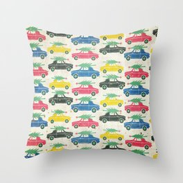 Treelot Traffic Throw Pillow
