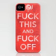 Public Service Announcement Slim Case iPhone (4, 4s)