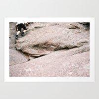 climbing Art Prints featuring climbing by tierra