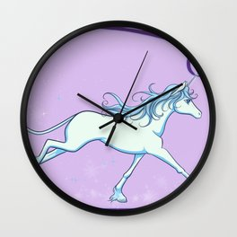 The Last Unicorn - See How She Sparkles Wall Clock