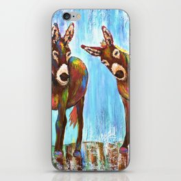 Donkeys iPhone Skin