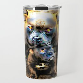 Pit Bull Models: Blue Defender 01-01 Travel Mug