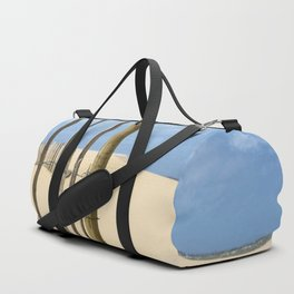 Fence in the sand Duffle Bag