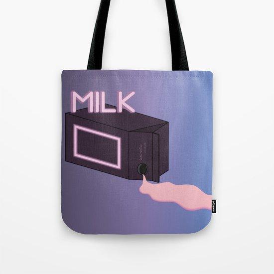 M I L K Tote Bag