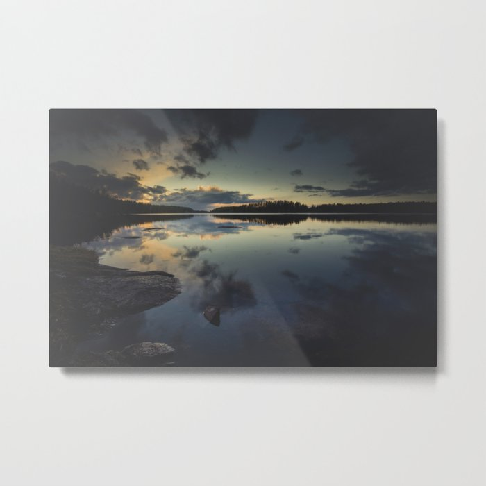 Speechless Metal Print