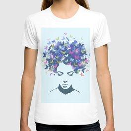 Woman Butterfly T-shirt