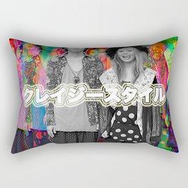 Crazy-Style Rectangular Pillow