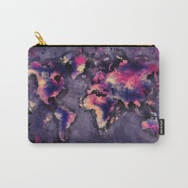 world map 108 #worldmap #world #map Carry-All Pouch