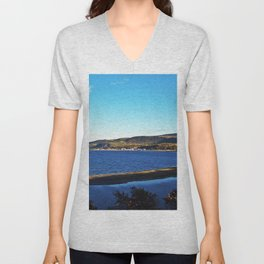 Cove Sandbar and River Unisex V-Neck
