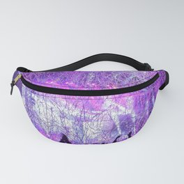 Cheering Crowd Celebrating At Concert Lilac Saturation Fanny Pack