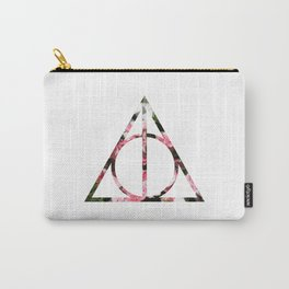 The Girly & Deathly Hallows Carry-All Pouch