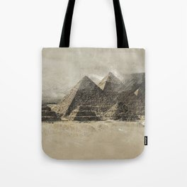 The pyramids - Egypt Tote Bag