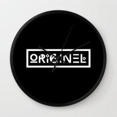 Originel noir Wall Clock