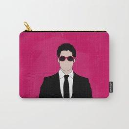Pink Darren Criss Carry-All Pouch